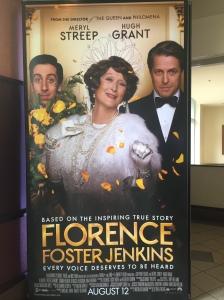 """amerikanischer Aufsteller von """"Florence Foster Jenkins"""""""